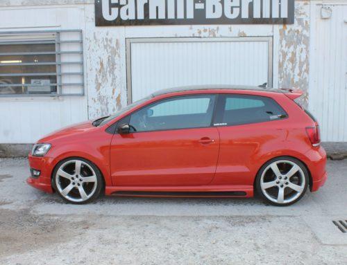 VW Polo CarHifi-Berlin und Kenwood Demo und Showcar