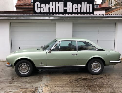 Peugeot 504 Coupe Oldtimer