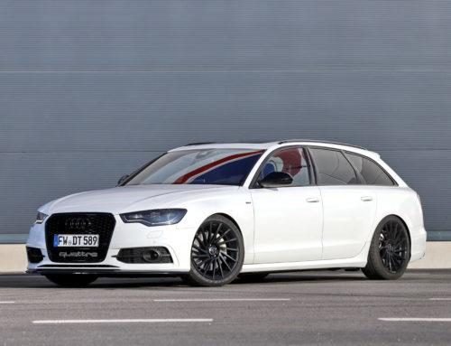 Audi A6 Showcar, Akustische und optische Meisterklasse