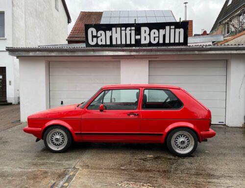 VW Golf 1 GTi Pirelli